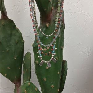 SUNDANCE GORGEOUS BEADED NECKLACE